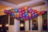Balloon drop net is the perfect display to put over your dance floor venue, filled with 200 balloons, when the centre cord is pulled the balloons shower down over your guests creating the perfect party atmosphere, Harrogate, Knaresborough, Leeds, York,