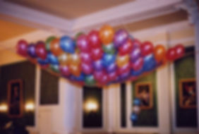 70th Birthday balloon drop net, we will instal the balloon net over your dance floor, in your venue, hotel or village hall, we cover Harrogate, Knaresborough, Ripon, Leeds, Bradford, York, Wetherby and surrounding area