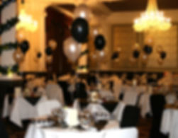 Christmas party and New Years Eve party balloons, bring a party to life, we offer a full decoration service in Harrogate, Leeds, York, Ripon and surrounding area