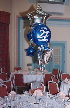 Helim Balloons Table Centre Decorations 21st Birthday Party Celebration York