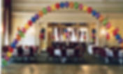 Corporate latex helium balloon arch are perfect for createing focal point in any room, we can print your company logo, colours and display them at your hotel, venue or exhibition balloon talk decorate leeds, harrogate, york, bradford