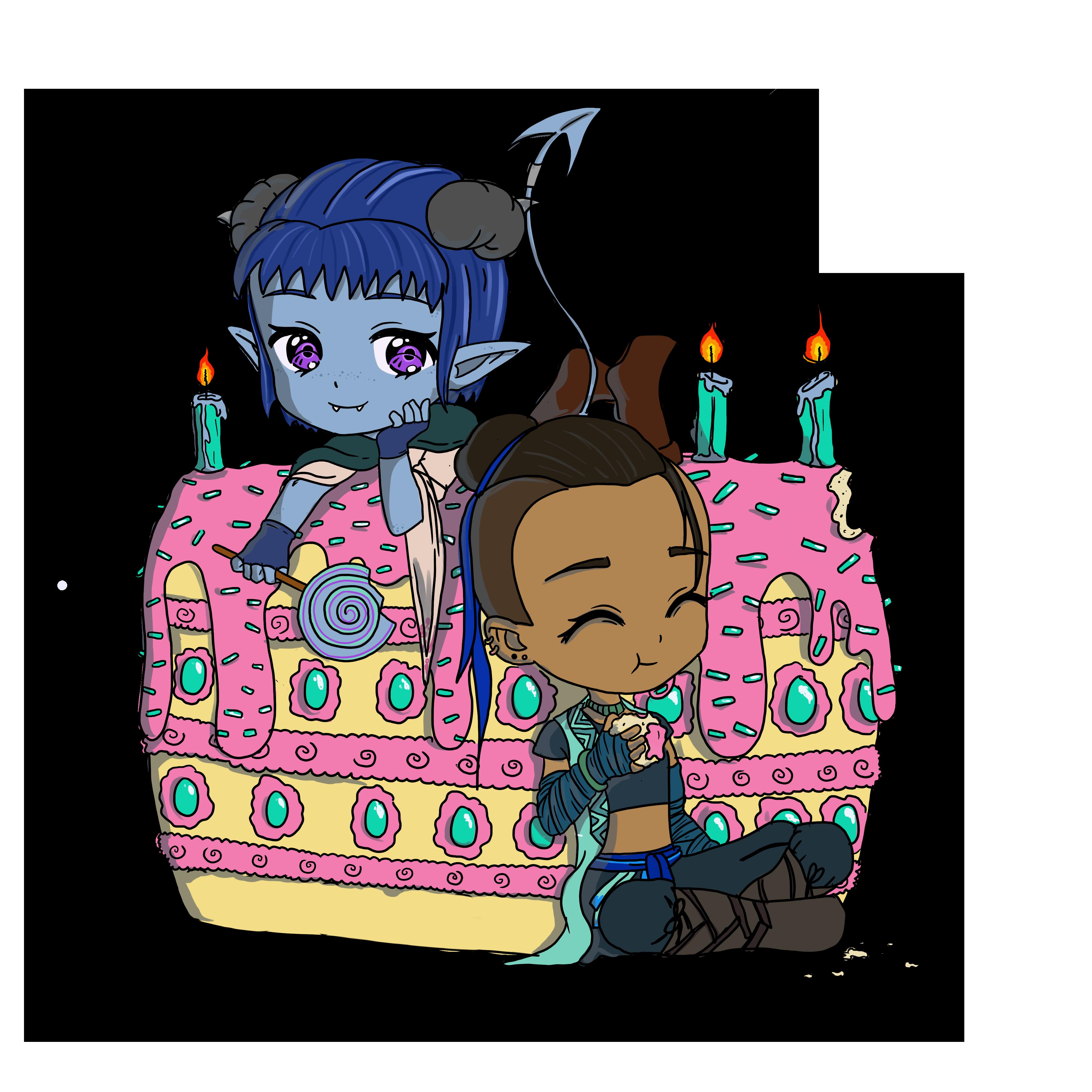 DND - Beau Jester Cake