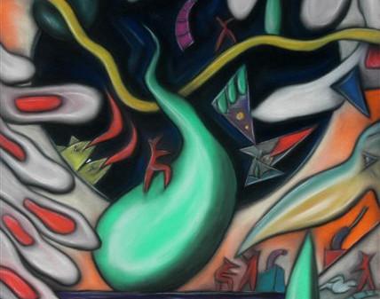 Pintura despojada, sintética e envolvente