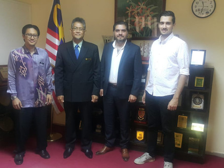 Courtesy Call By Abeer Consultant on HE Ambassador