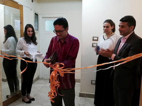 Minister Counsellor (Education) Launched MAHSA International Office in Egypt