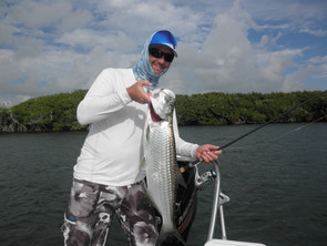 Tarpon and Trout Fishing with Pavel and his Dad