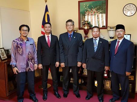 Lawatan Pemantauan Pelajar Tajaan KPM Bidang Qiraat 2018.