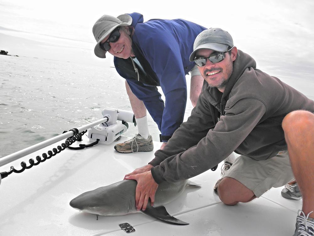 Florida Keys shark fishing with Torch Key Charters