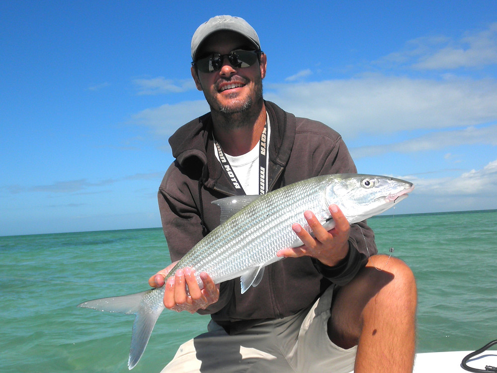 Florida Keys bonefish with Torch Key Charters