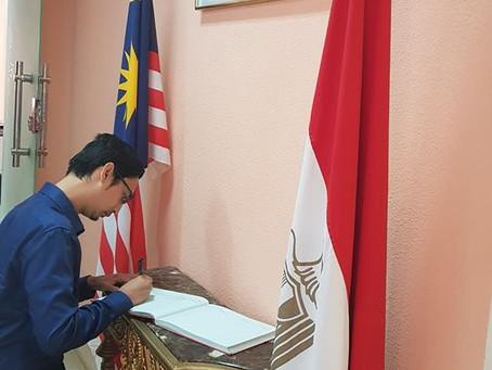 kunjungan En Goh Muhammad Redhuan, Setiausaha Kedua (Student Liaison Officer)