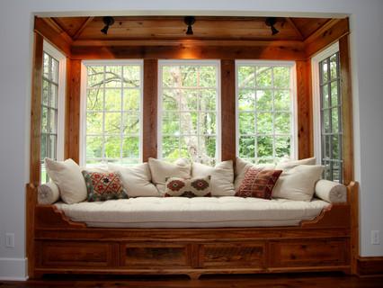 Built-in Window Seat