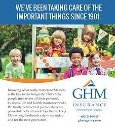 GHM print ad - general