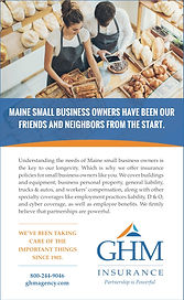 GHM print ad - small biz