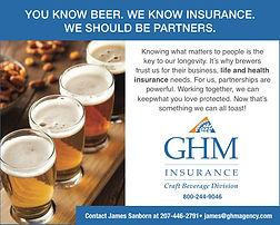 GHM print ad - brewing