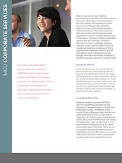 MCD overview folder & inserts