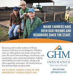 GHM print ad - agriculture