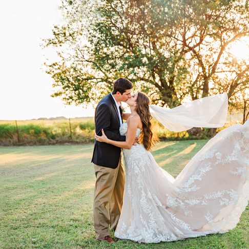 The Dress, the kiss, the wind on wedding day JM Prosperity Farm Rustic Barn Video