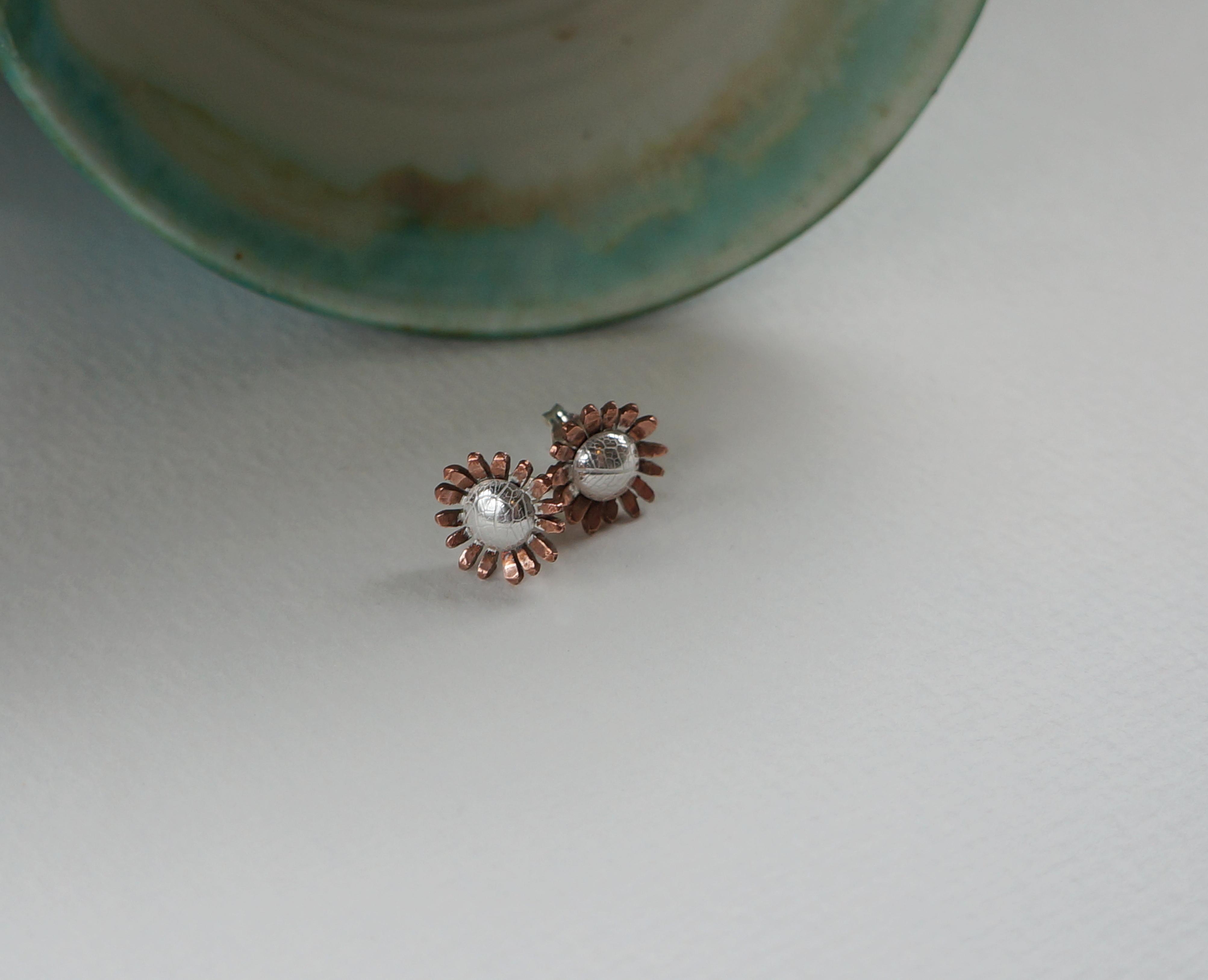 Copper Daisies