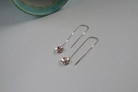 147 - La Fleur Thread Earrings.JPG