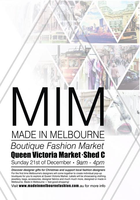 Made In Melbourne Market  ////
