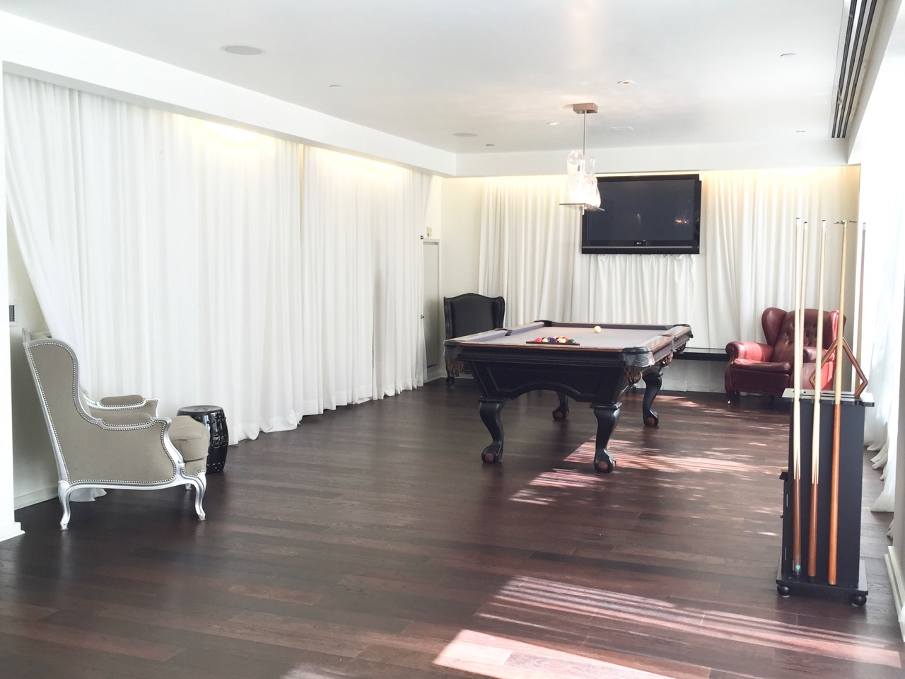 Gramercy Condo Billiard Room