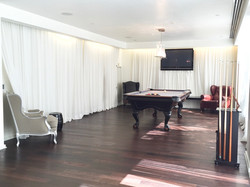 Gramercy Condo Billiard Room