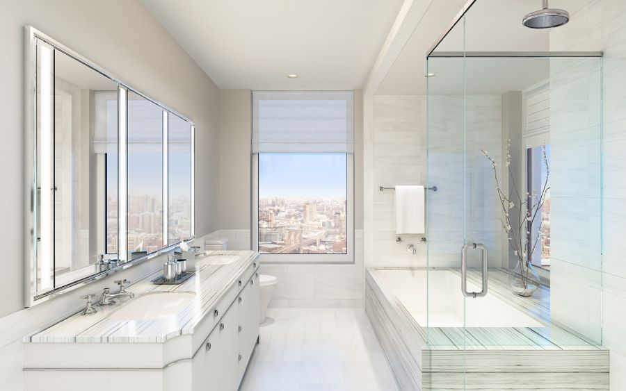 30 Park Place Bathroom