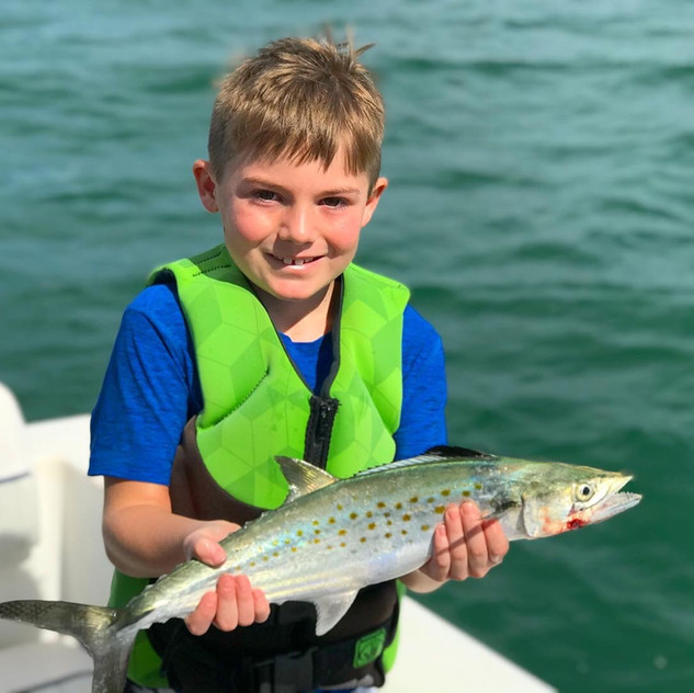 Anna Maria Island Fishing for Kids