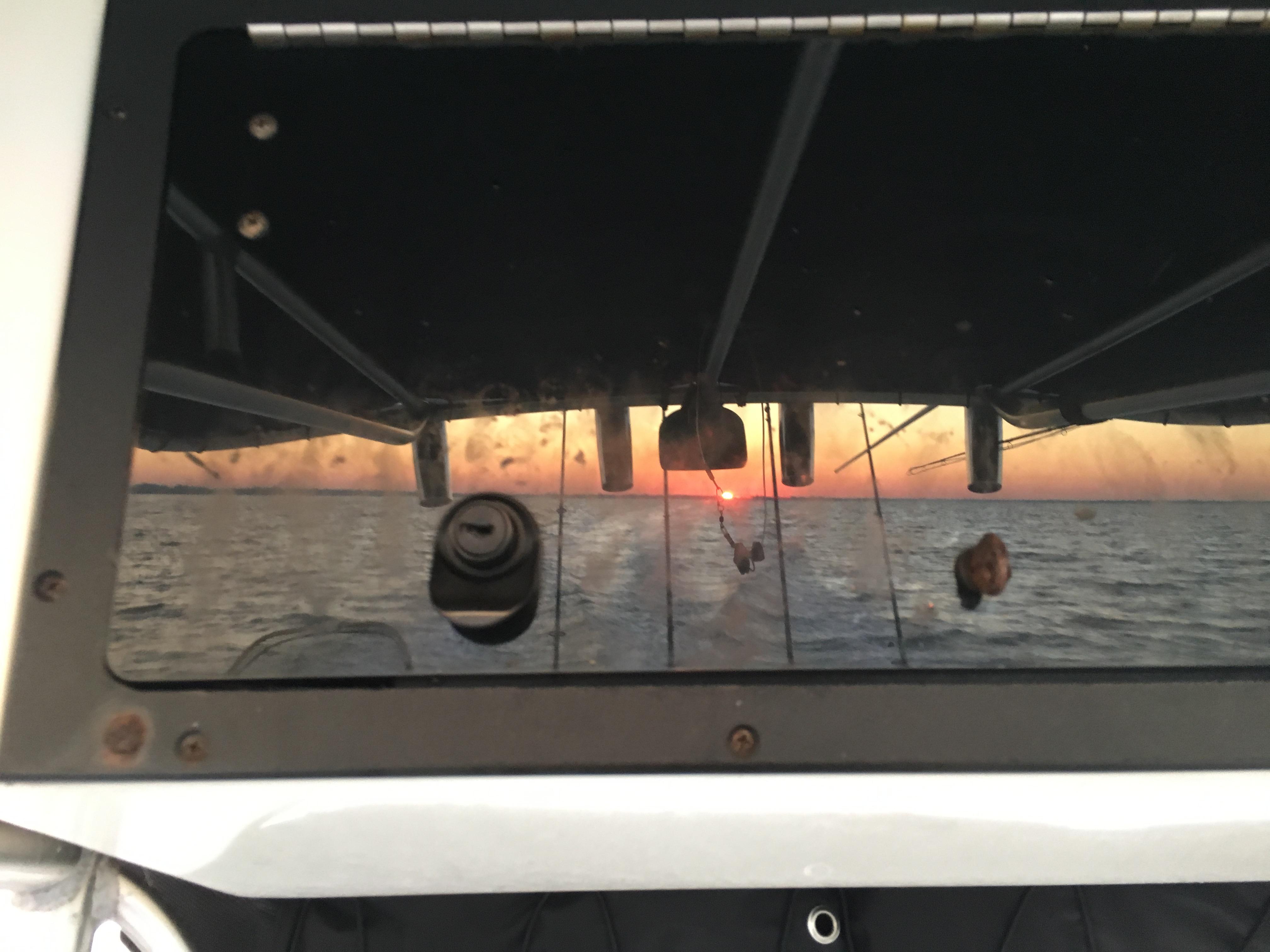 Boat Sunrise AMI Charters