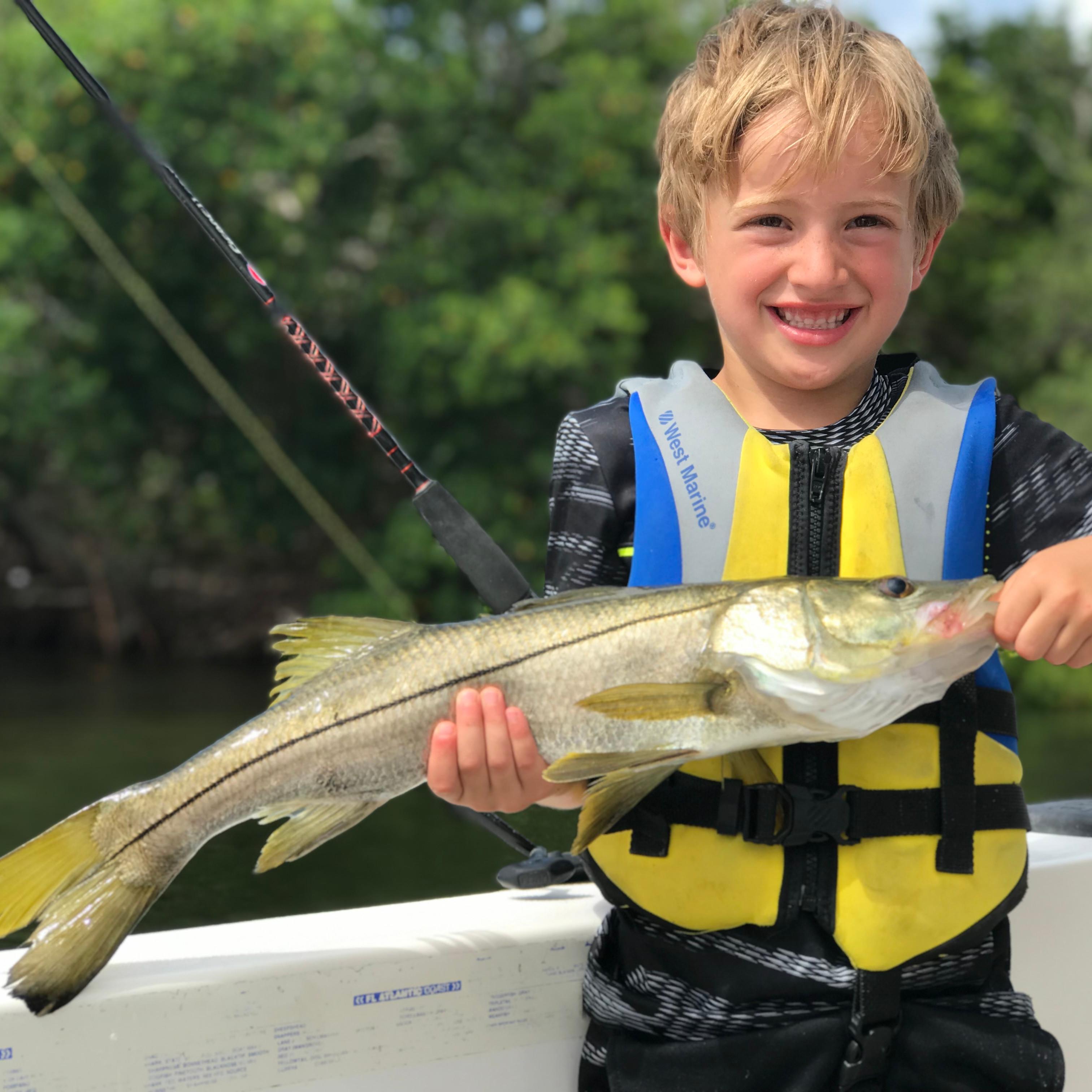 2 Hour Kid's Fishing Trip