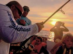 Sunset Shark Fishing