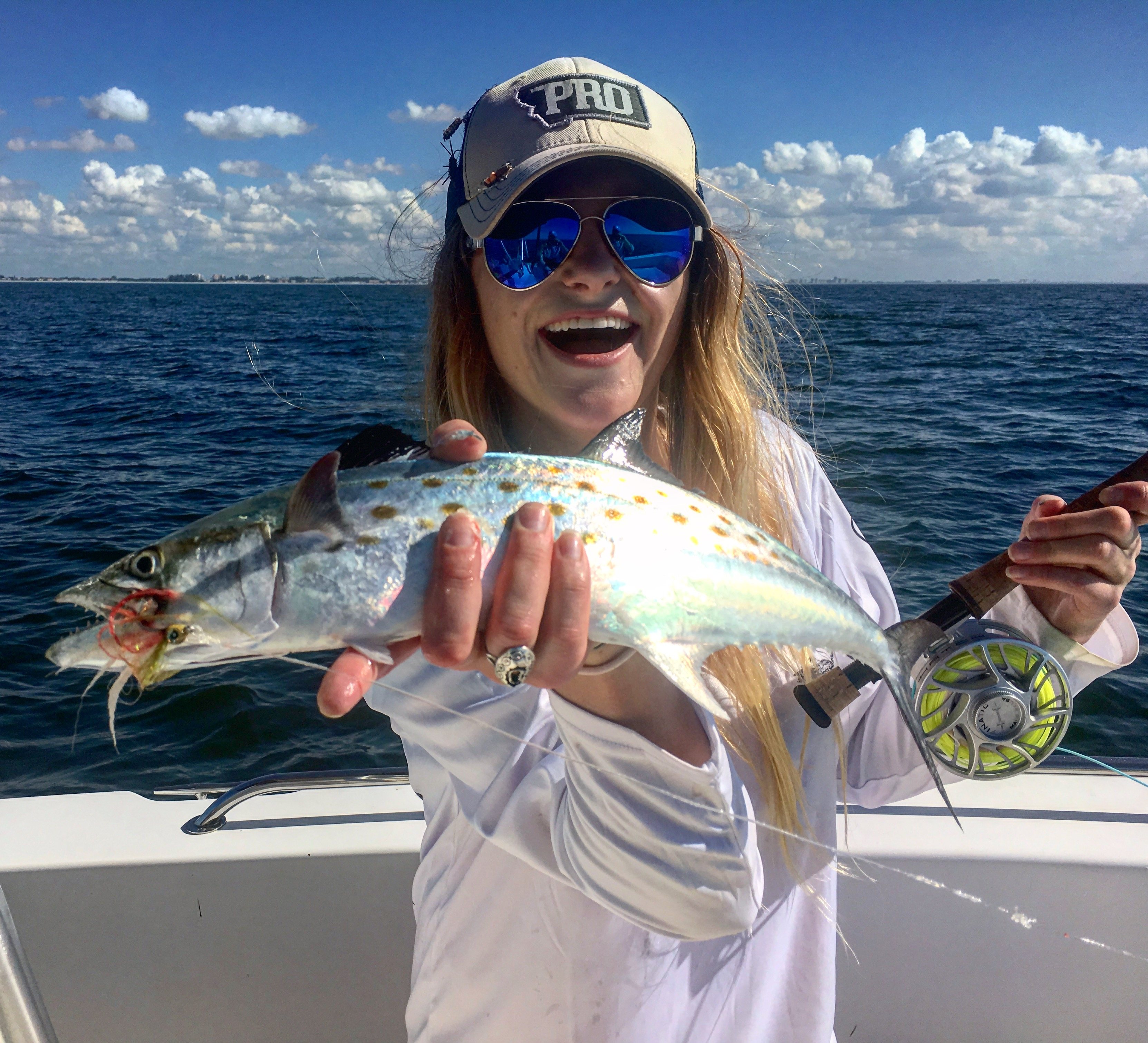 Spanish Mackerel on the fly