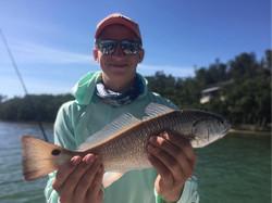 Redfish fishing AMI Florida