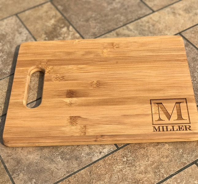 Bamboo Cutting & Serving Board