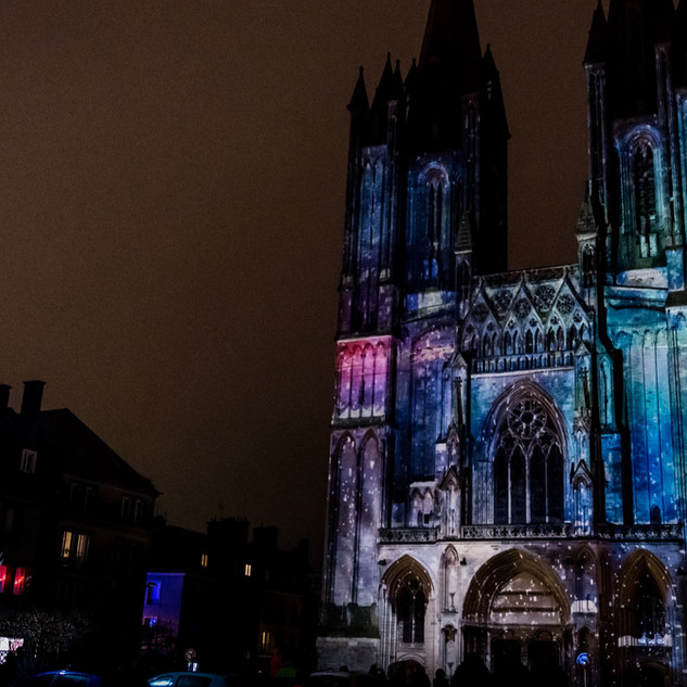 MAPPING CATHEDRALE DE COUTANCES