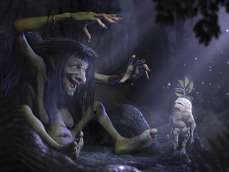 La Mandragora: La pianta delle Streghe.