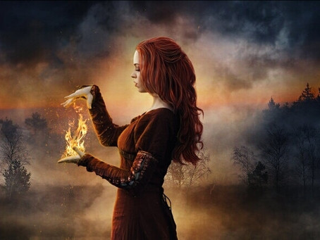 Magie e incantesimi con l'elemento fuoco.