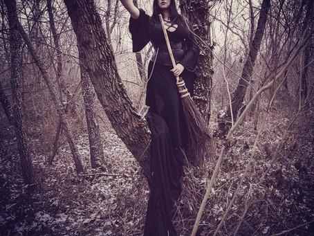 La scopa di saggina: il ramo magico delle streghe.