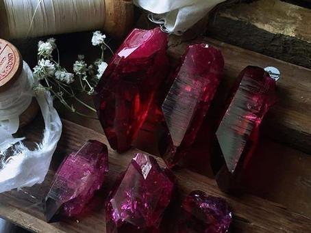 Il Rubino: la pietra scarlatta.