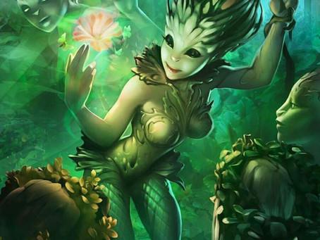 La magia delle piante.