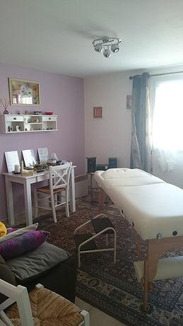 Ma table de séances en magnétisme et massage