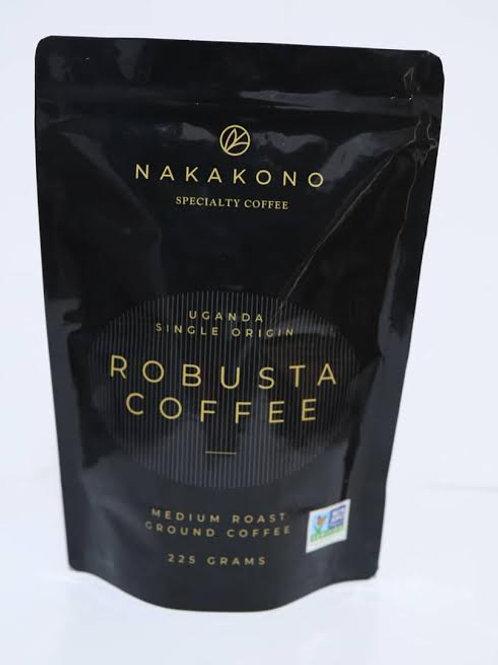 NAKAKONO FINE ROBUSTA COFFEE  GROUND 225 g