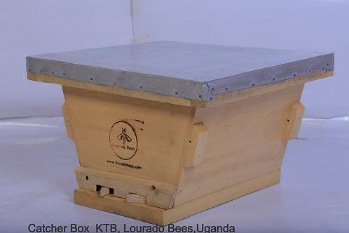 Kenyan Top Bar   Catcher box
