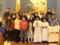 Animadores juveniles comprometidos con su misión en la Iglesia