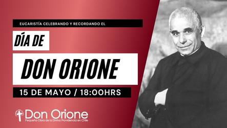 Misa celebrando el día de Don Orione