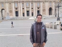 Nuestro seminarista Javier, a punto de comenzar su noviciado en Italia
