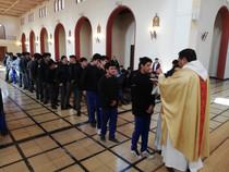 Con Eucaristías masivas se celebró la Pascua de Resurrección en el colegio de Cerrillos