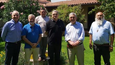 Con la visita del p. Tarcisio, se realizó reunión consejo de nuestra Delegación de Chile
