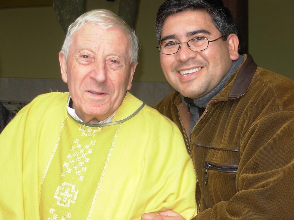 El padre Mattioli, su amigo de toda la vida
