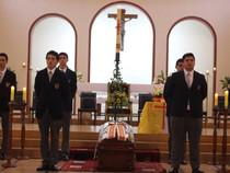 Despedimos como familia a nuestro querido padre Ángel Cantarutti